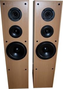Jamo Studio 160 3-Way Floorstanding Speakers (Pair) - Beech