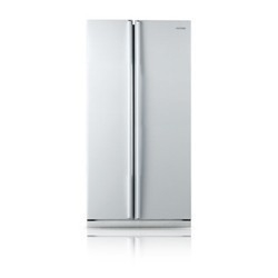Samsung 537l White Side By Side Refrigerator Srs535nw