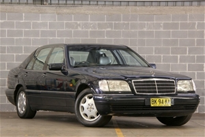 Vehicle Model Mercedes Benz S320 W140 01 1995 Sedan