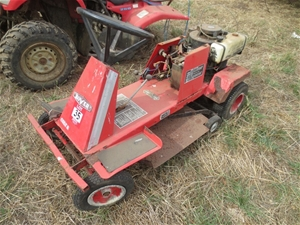 Rover 1766: mowers rancher ride-on owners manual.