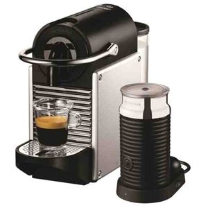 buy delonghi nespresso pixie capsule machine black en125sae graysonline australia. Black Bedroom Furniture Sets. Home Design Ideas
