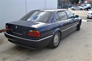 unreserved 96 bmw 740il 95 bmw 318i e36. Black Bedroom Furniture Sets. Home Design Ideas