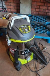 Wet Amp Dry Vacuum Cleaner Ryobi Model Vc20hdrg Canister