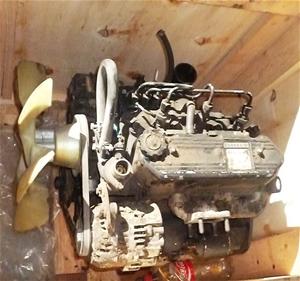 mitsubishi l3e diesel engine. industrial uses. l3e-199893. engine