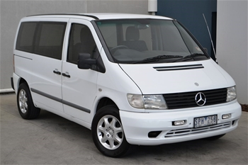 Unreserved 2003 Mercedes Benz Vito 108 CDI 638 Turbo Diesel