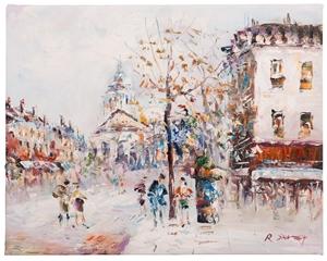 R.Davey - Title: Montmartre