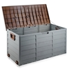 Giantz 290L Outdoor Storage Box - Brown