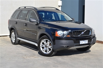 unreserved 2004 volvo xc90 t6 awd 7 seater. Black Bedroom Furniture Sets. Home Design Ideas