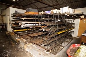 Steel Bar Stock Storage Rack Fabricated Flat Amp Round Bar