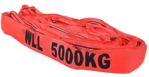 Round Lifting Sling, WLL 5,000 x 2M (Wit