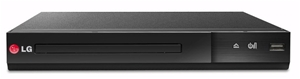 LG DP132 DVD Player with USB Plus (Black