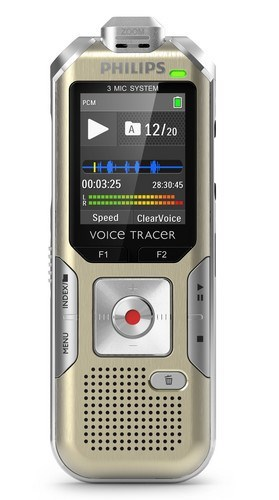 Philips DVT6500 3 mic Stereo Colour Display HighFidelity Recorder