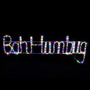 Buy LED ''Bah Humbug'' Rope Light Christmas Display | GraysOnline ...