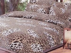 queen size zindel leopard print bugatti 6 piece quilt cover set auction 0009 2090557. Black Bedroom Furniture Sets. Home Design Ideas