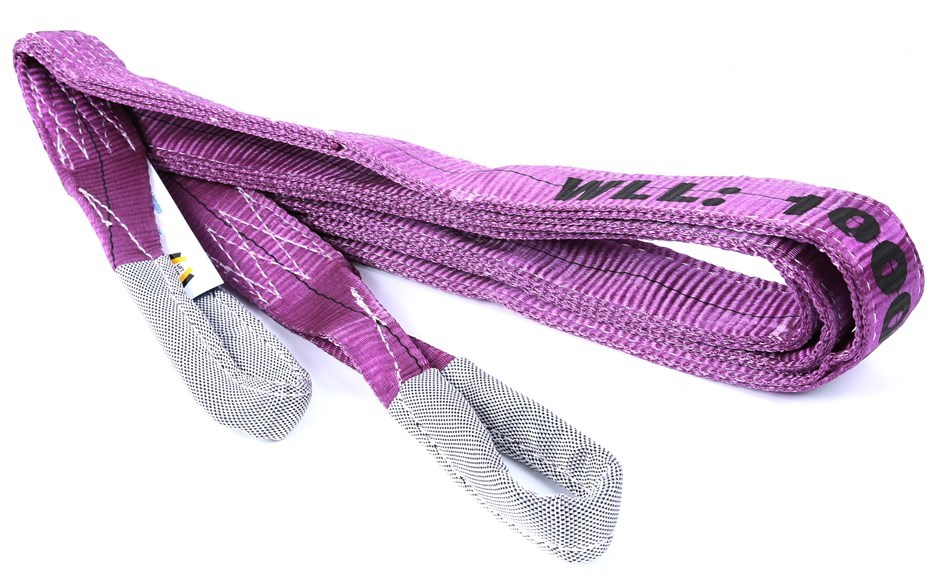 Flat Webb Lifting Sling, WLL 1,000kg x 6M (With Test Cert). Buyers Note - D