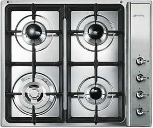 how to use smeg gas cooktop