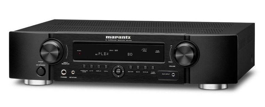 Marantz NR1402 Slim Line 3D HD AV Receiver (Black)