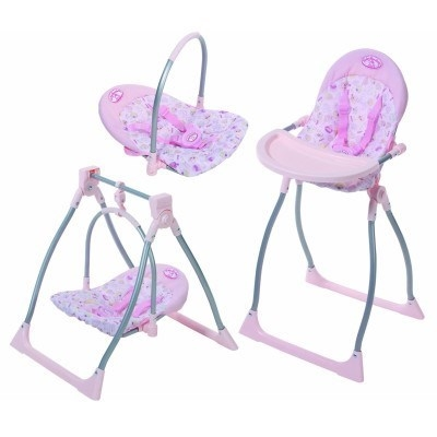Buy Baby Annabell Highchair, Swing & Comfort Seat | Grays ...