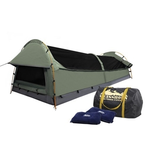 Weisshorn Double Size Canvas Tent- Celad