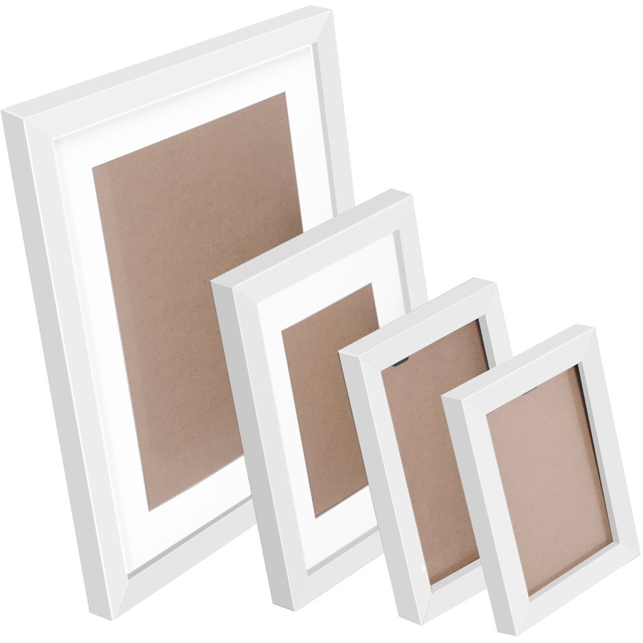26 Piece Photo Frames Set - White