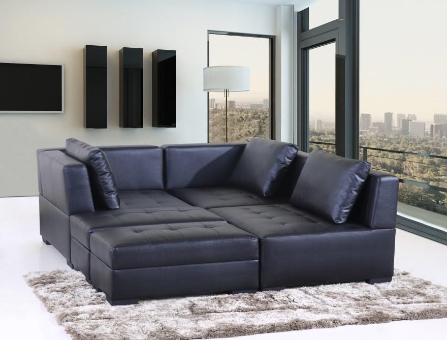 Maestro multi-function lounge set, Black