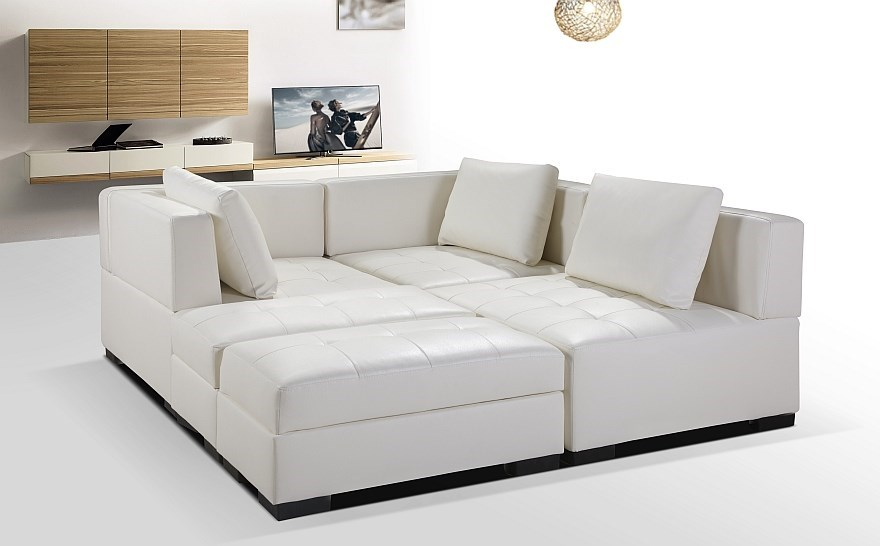 Maestro multi-function lounge set, White
