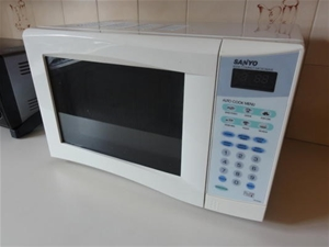 Compact Microwave Oven Sanyo Model No