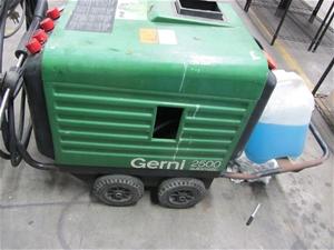 how to use gerni pressure cleaner