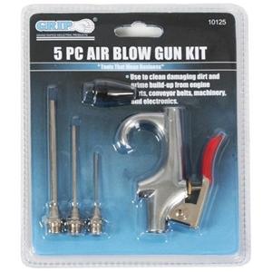 5pc Air Blow Gun Kit Accessories. Buyers
