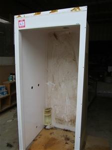 Marble trend 750 x 850mm fiberglass shower enclosure