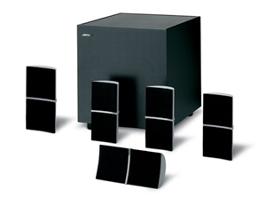 Jamo A305PDD Home Theatre Speaker Package (Silver) - RRP