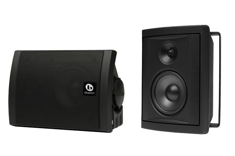 Boston Acoustics Voyager 40 Outdoor Speakers (Black) (Pair)