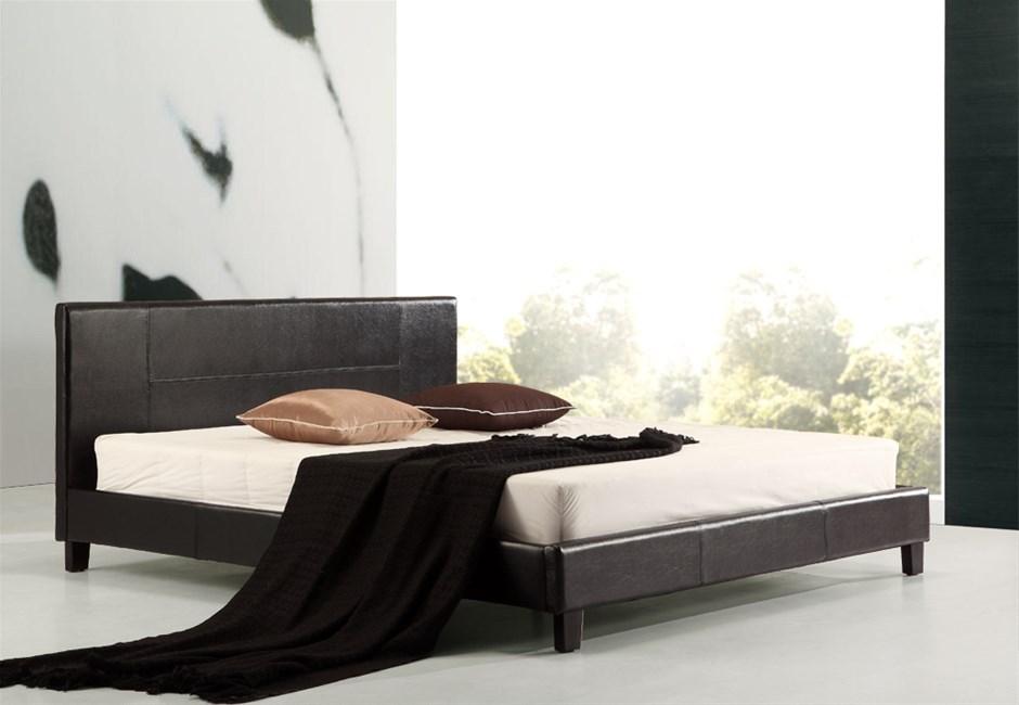 king single bed frame ikea | Graysonline
