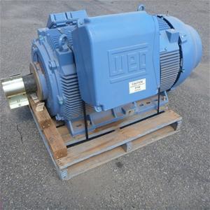 Weg Hgf 315kw Three Phase Induction Motor Auction 0001