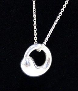 Genuine tiffany co unworn silver elsa peretti eternal circle genuine tiffany co unworn silver elsa aloadofball Images
