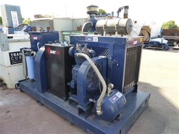 NLB 4075D Ultra High Pressure (UHP) Skid-Mounted Pump, 1/2008