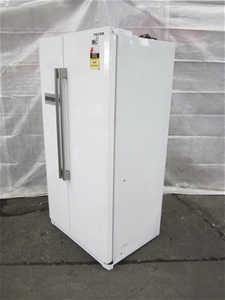 haier 545l side by side refrigerator hsbs582aw auction 0005 7121076 graysonline australia. Black Bedroom Furniture Sets. Home Design Ideas