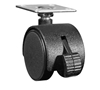 iLuv Heavy Duty Caster Wheels for iAD910 MultiCharger-X (Black)