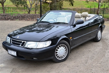 1997 saab 900 s auto convertible 136 323. Black Bedroom Furniture Sets. Home Design Ideas