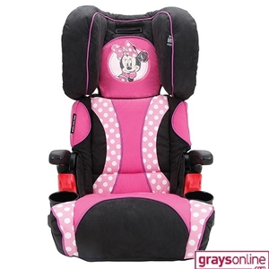 Minnie Mouse Car Seat Installation