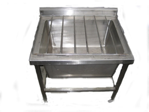 Stainless Steel Mop Sink With Legs Type A Asset Auction