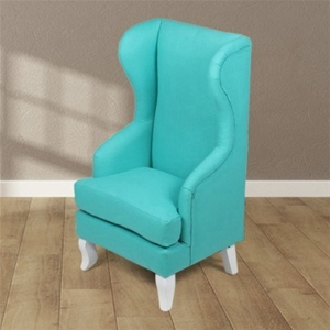 Kids Aqua High Back Arm Chair Auction GraysOnline Australia