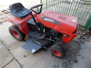Ride On Lawn Mower Rover Rancher 36 Cut Powered By 12