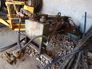 Vintage Tree Shaker Attachment, suit fruit/nuts, etc  PTO tractor drive, hy