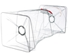 3 x Fishing Bait Traps, 270mm x 270mm x 650mm. Buyers Note - Discount Freig