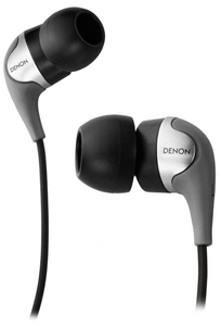 Denon AH-C360 In-ear Headphones (Silver)